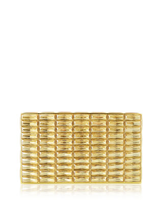 Judith Leiber Couture Duchesse Faceted Box Clutch Bag