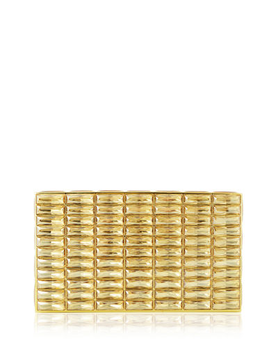 Duchesse Faceted Box Clutch Bag