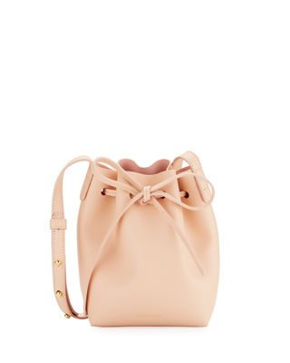 Calf Leather Mini Mini Bucket Bag