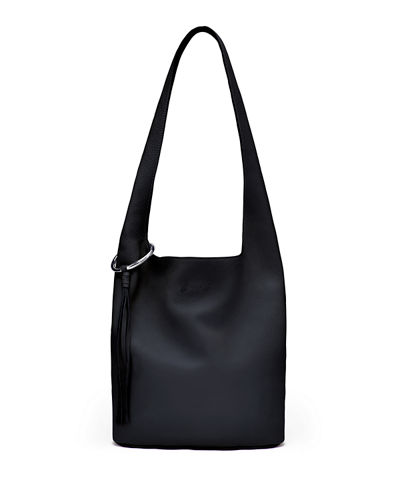 Elizabeth and James Finley Courier Leather Hobo Bag