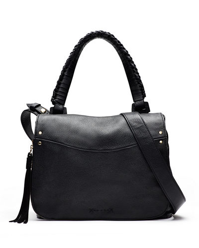 Elizabeth and James Trapeze Leather Crossbody Bag