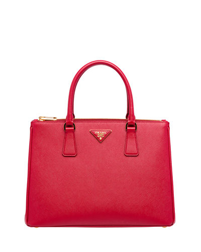 Medium Saffiano Lux Tote