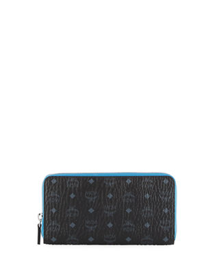 Image 1 of 2: Color Visetos Large Zip-Around Wallet