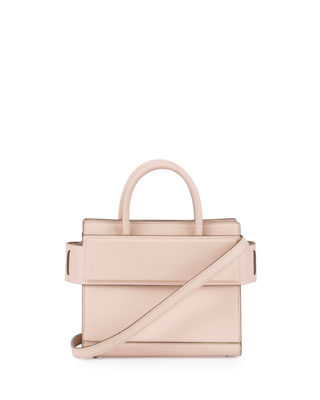 Horizon Mini Grained Leather Tote Bag