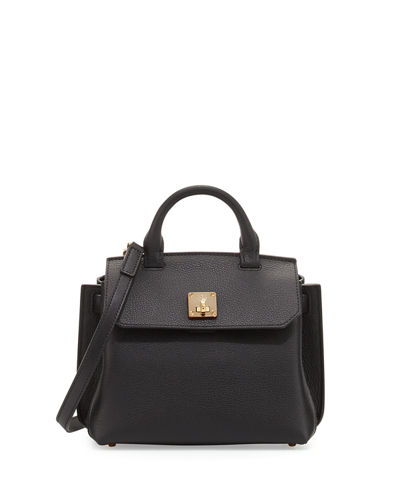 Milla Leather Crossbody Tote Bag