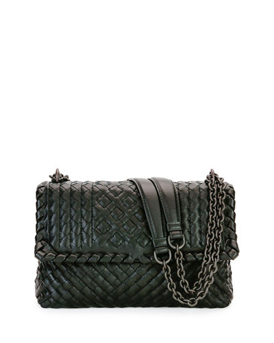 Bottega Veneta Intrecciato Medium Double-Chain Tote Bag