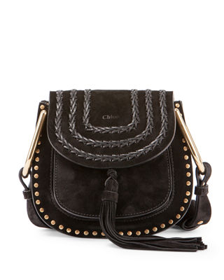 Chloe Hudson Mini Suede Shoulder Bag