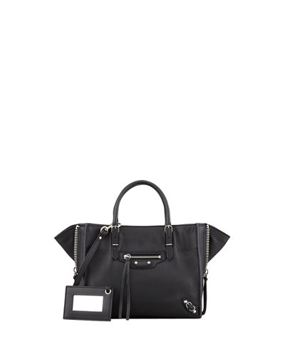 Balenciaga Papier A4 Mini Leather Tote Bag