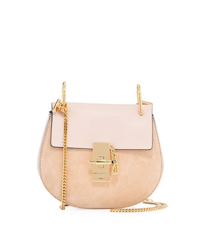Chloe Drew Mini Chain Saddle Bag
