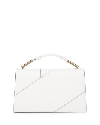 Image 1 of 3: Charlotte Origami Leather Evening Clutch Bag