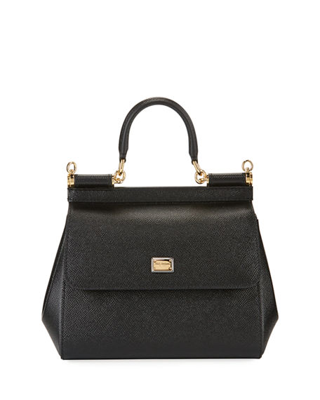 Dolce & Gabbana Sicily Small St. Dauphine Shoulder Bag
