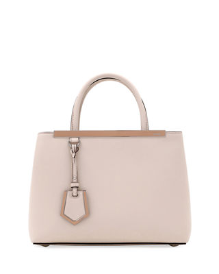 2Jours Petite Leather Tote Bag