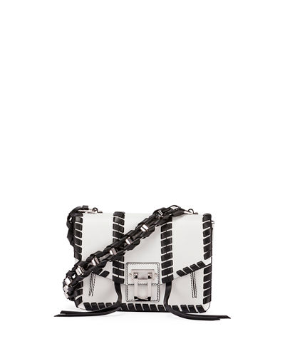 Proenza Schouler Hava Whipstitch Leather Chain Shoulder Bag