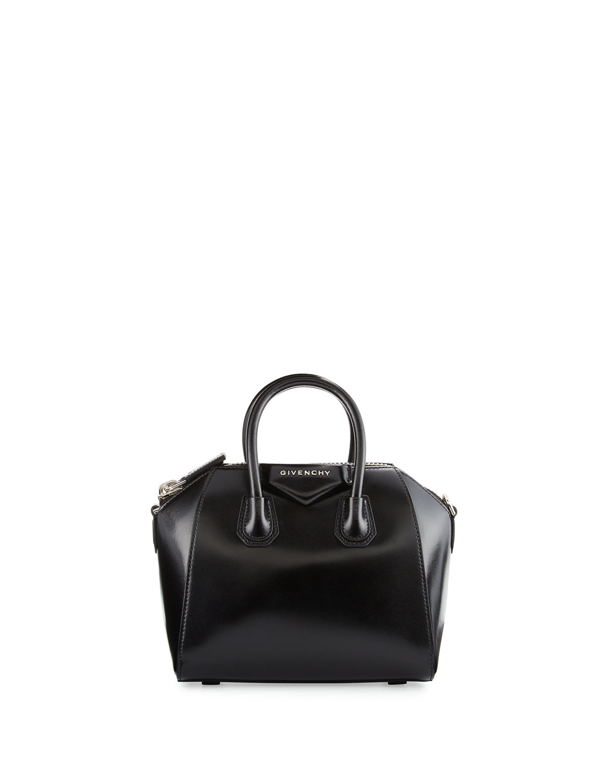 2e0edcea21 Givenchy Antigona Mini Box Calfskin Satchel Bag | Neiman Marcus