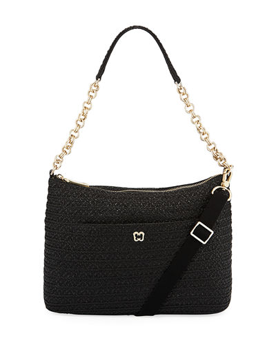 Powchky Zip-Top Shoulder Bag