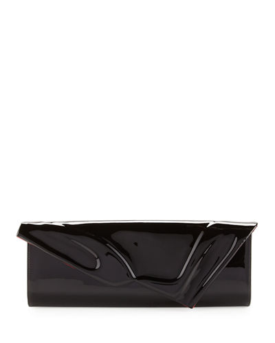 So Kate Patent East-West Clutch Bag
