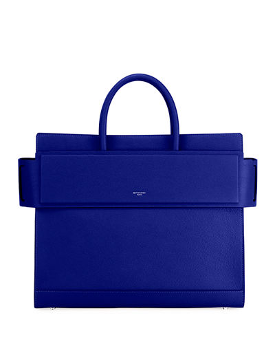 Horizon Medium Textured Leather Tote Bag