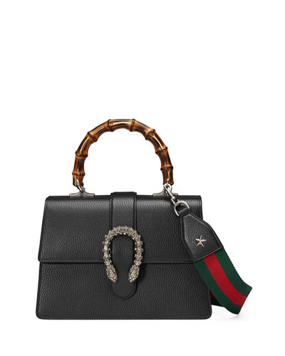 Gucci Dionysus Medium Leather Top-Handle Bag