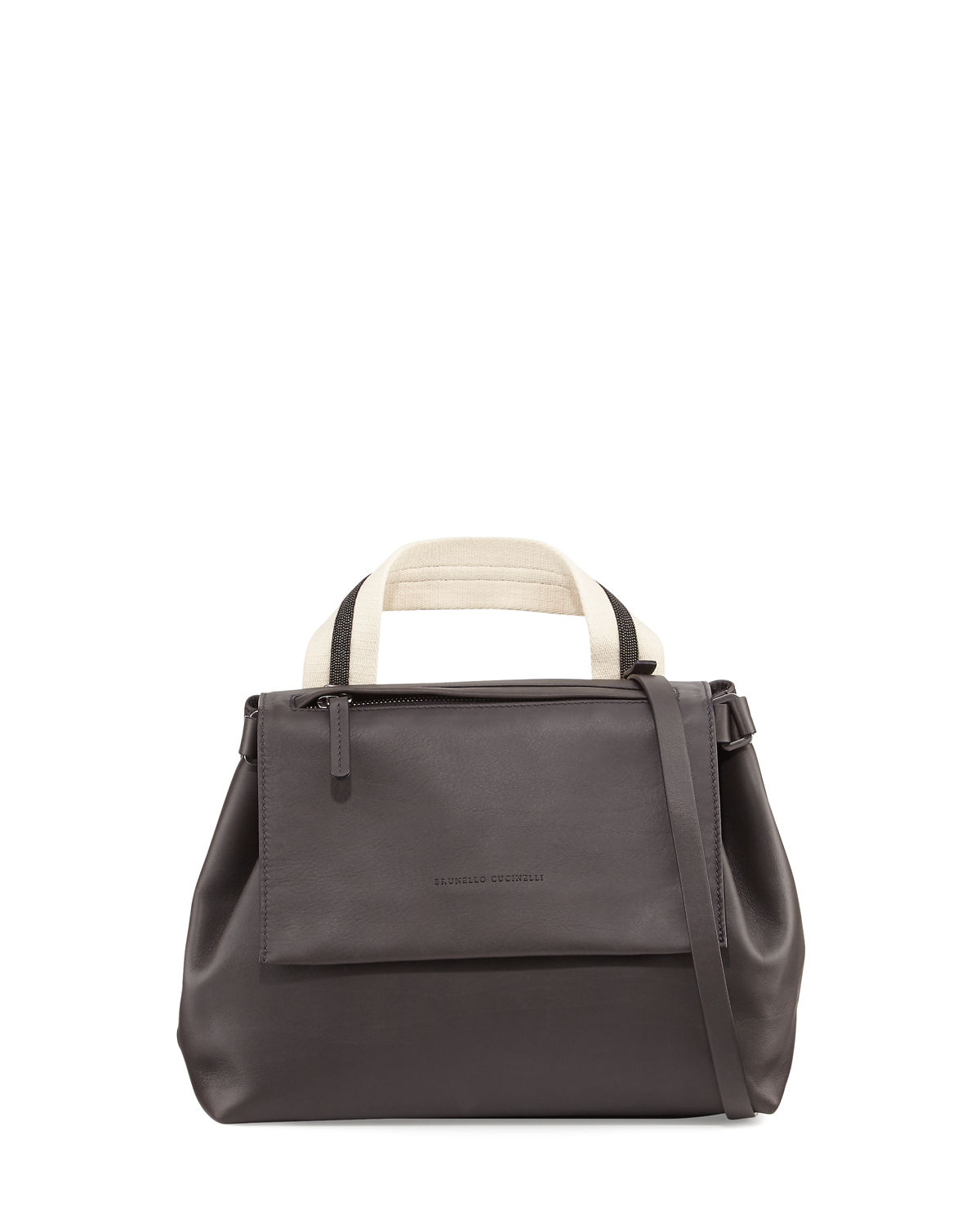 Medium Leather Satchel Bag