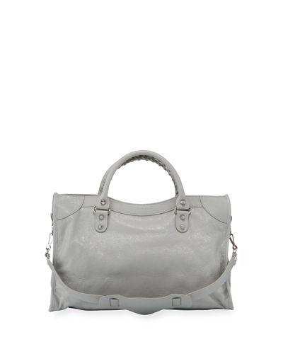 Classic City Lambskin Tote Bag