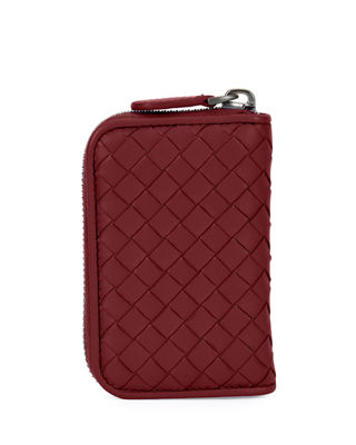 Bottega Veneta Intrecciato Mini Zip-Around Wallet/Coin Purse