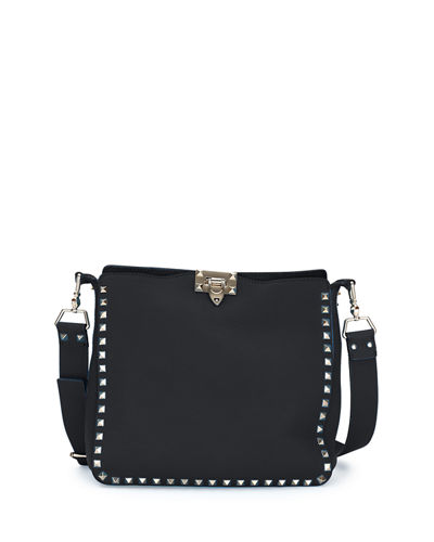 cf0197d673 Valentino Rockstud Small Hobo Bag