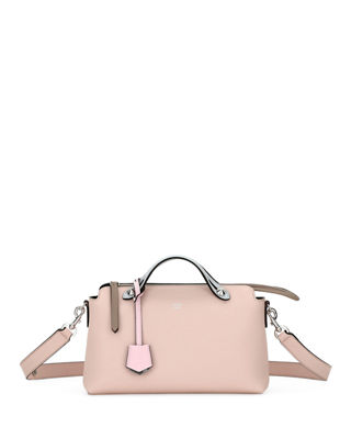 Fendi By The Way Small Colorblock Leather Satchel