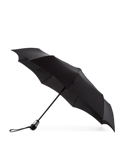Davek Solo Individual-Sized Umbrella, Black