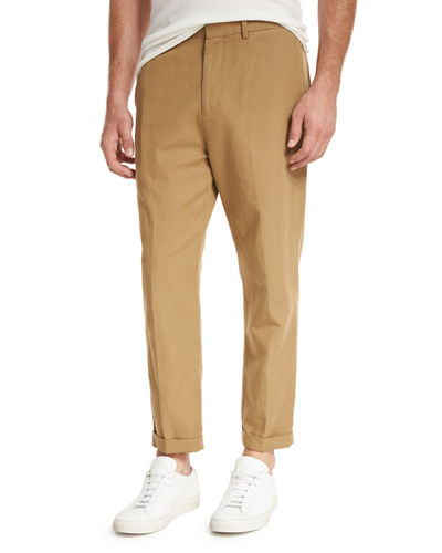 Relaxed Cropped Trouser