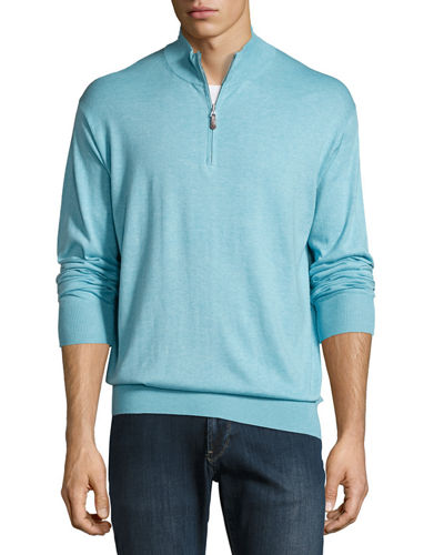 Crown Soft Quarter-Zip Pullover Sweatshirt