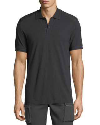 Image 1 of 2: Hitchin Cotton Pique Polo Shirt