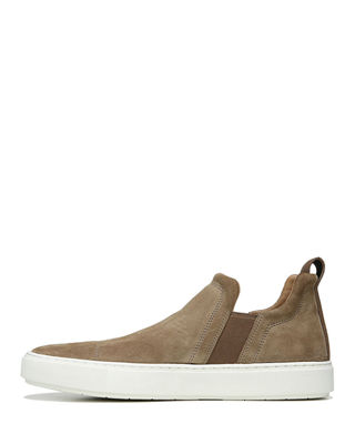 Image 2 of 3: Lucio Sport Suede Slip-On Sneaker