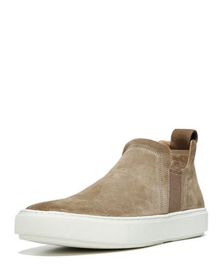 Image 1 of 3: Lucio Sport Suede Slip-On Sneaker