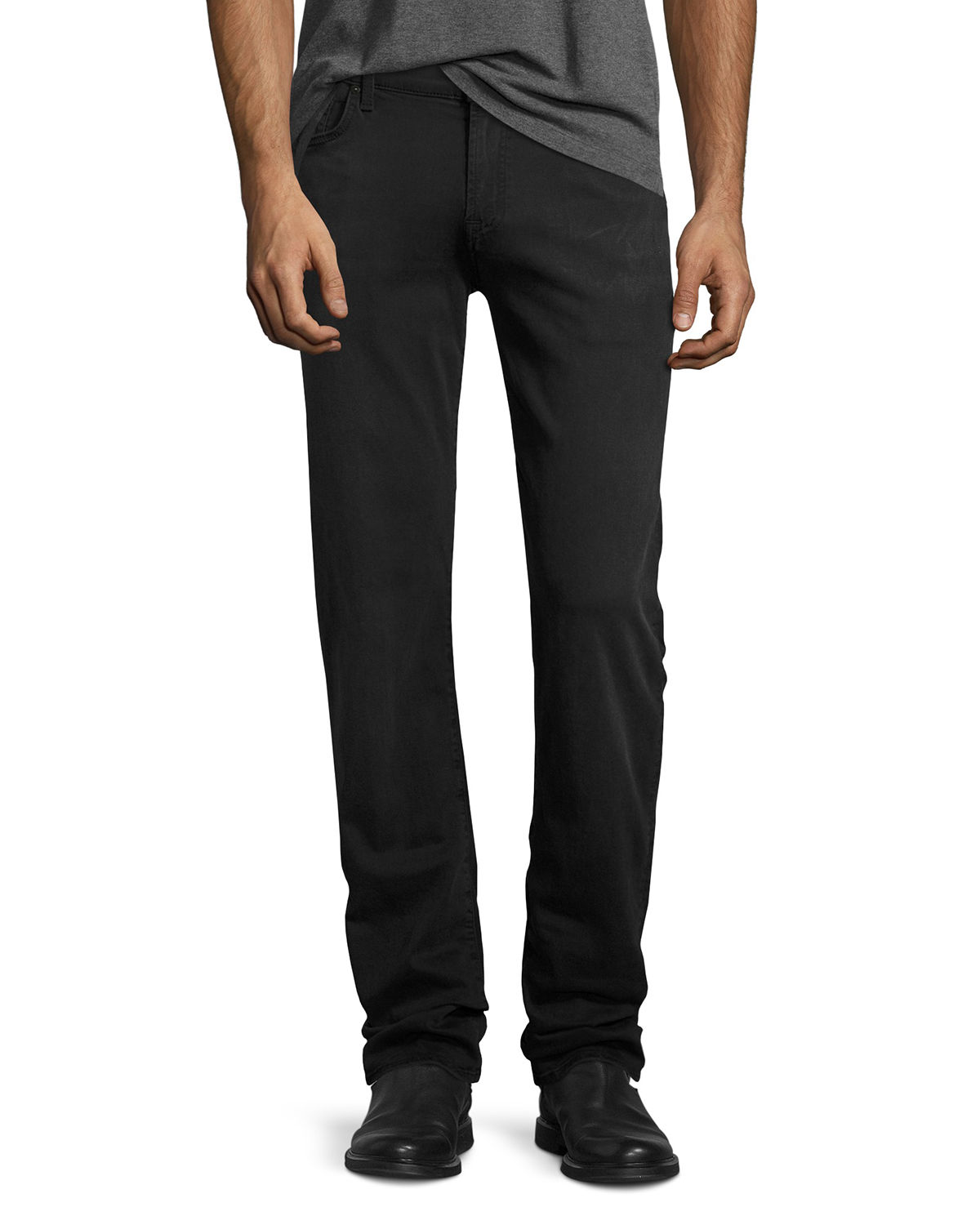 Men's Luxe Sport: Slimmy Gray Jeans