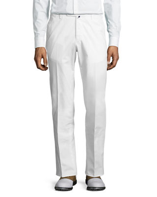 Image 1 of 6: Benson Five-Pocket Standard-Fit Trousers