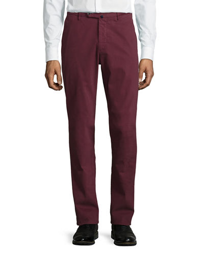 Incotex Benn Standard-Fit Stretch Cotton Pants