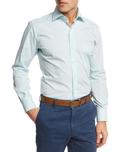 Peter Millar Summer Stripe Sport Shirt