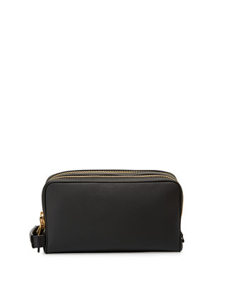 TOM FORD Double-Zip Leather Toiletry Case