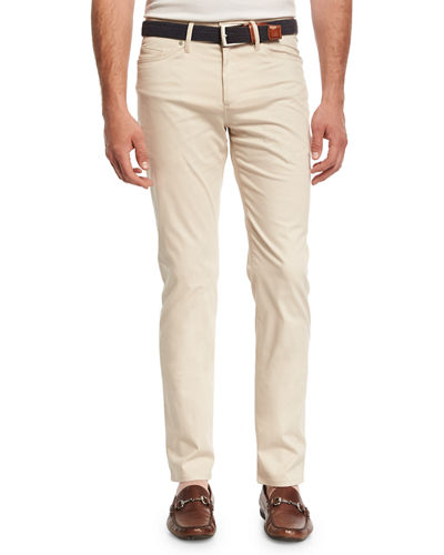 Peter Millar Collection Perfect Poplin 5-Pocket Pants