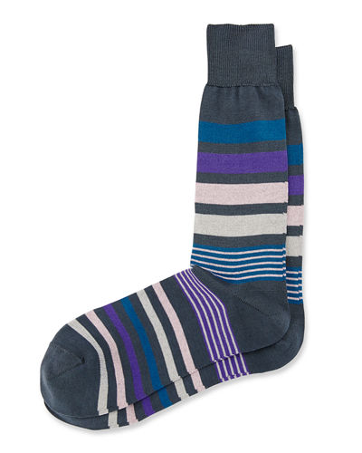 Paul Smith Joni Striped Socks
