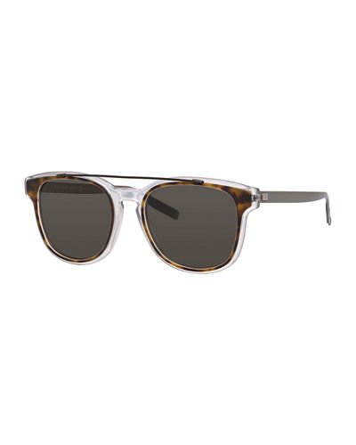 Dior Black Tie Square Acetate Sunglasses