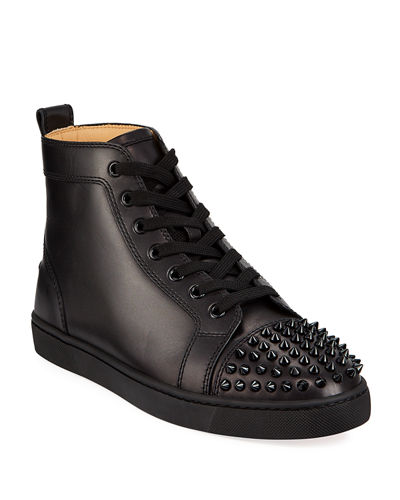 Men's Lou Spikes High-Top Sneakers