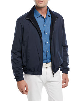 Loro Piana Windmate Reversible Bomber Jacket