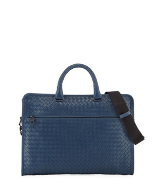 Image 1 of 3: Softie Slim Woven Briefcase