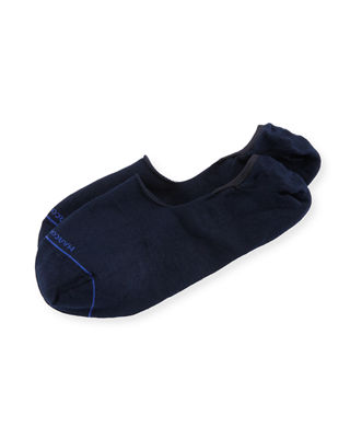 Marcoliani Invisible Touch Solid No-Show Socks