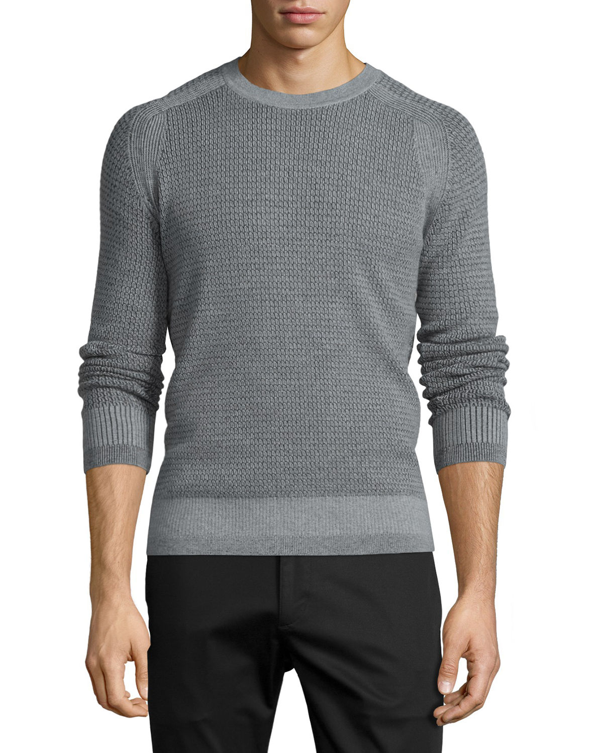 Aster Textured Wool Sweater