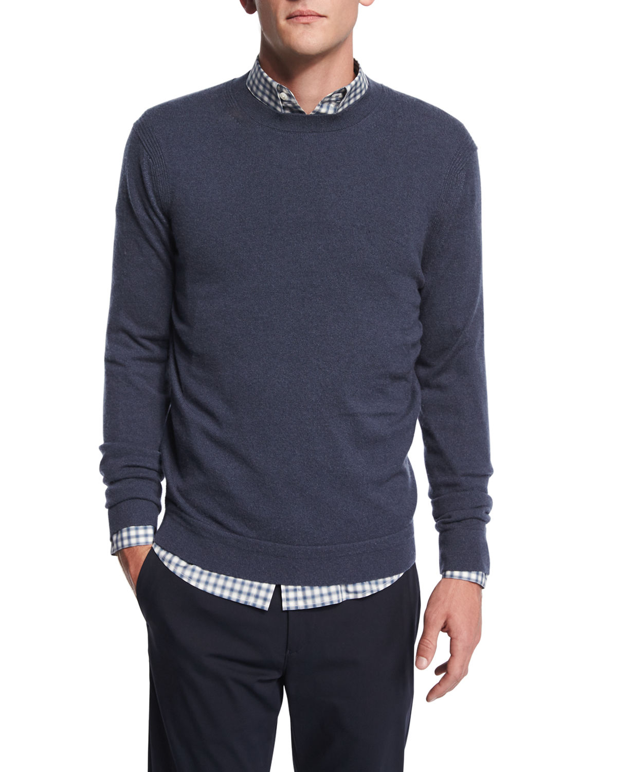 Vetel Long-Sleeve Cashmere Sweater