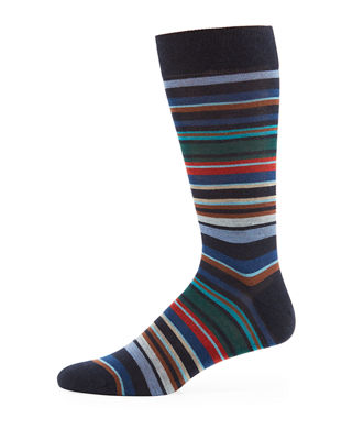 Quaker Stripe Dress Socks