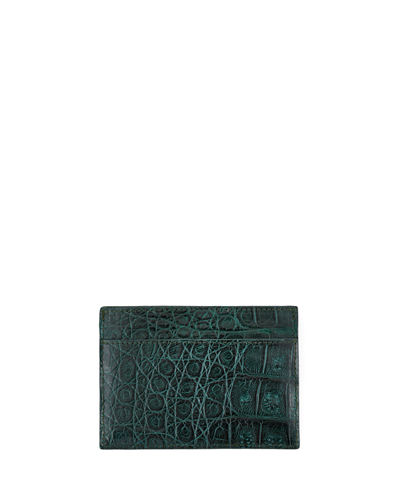 Santiago Gonzalez Crocodile Card Case
