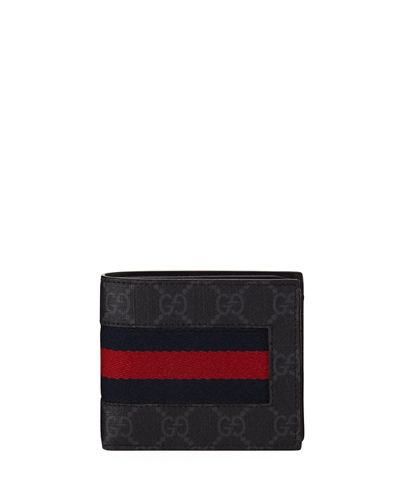 Web GG Supreme Canvas Wallet